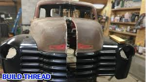 100 1947 Gmc Truck Fitting A 54 Chevrolet Body To An SSR Chassis