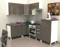 meuble haut cuisine laqué meuble cuisine laque descriptif caisson angle haut 60 cm taupe