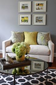 ely Image Yellow And Grey Living Room Decoration Using Gray