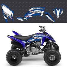 kit deco 250 raptor kit déco 250 raptor bleu accessoires yamaha quadyland