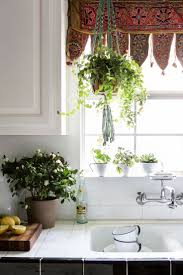 Sink Tiles Faucet Indian Embroidered Toran Doorhanging Used As A Valance Over Kitchen Window