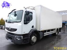 RENAULT Midlum 240 Euro 4 Refrigerated Trucks For Sale, Reefer Truck ...