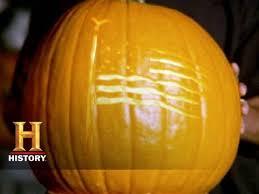 American Flag Pumpkin Carvings by History Of Halloween World U0027s Fastest Pumpkin Carver History