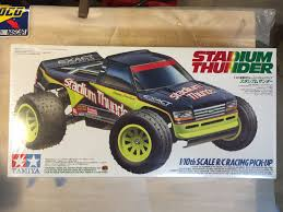 Vintage Tamiya Stadium Thunder RC Truck Kit 58181 | EBay Heng Long 116 Radio Remote Control 3853a Military Truck Car Tank Rc Cars Buy And Trucks At Modelflight Shop Testing The Axial Yeti Score Racer Tested Green1 Wpl B24 Rock Crawler Army Kit Rc4wd Gelande Ii W Defender D90 Body Set Hobby Shop Custom Rc Truck Archives Kiwimill Model Maker Blog Mc8 110 8x8 Miltary Hobby Recreation Products Cheap Rc Truggy Kits Find Deals On Line Alibacom Double E Building Block 638pcs Rechargeable Garage Custom Bj Baldwins Trophy Mt410 Electric 4x4 Pro Monster By Tekno Tkr5603