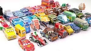 Learning Color Special Disney Pixar Cars 3 Lightning McQueen Mack Truck Origami For Kids Car Toys