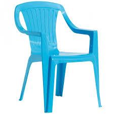 chaise de jardin enfant chaise de jardin enfant bleue collection plastique mobilier de