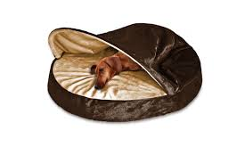 Cuddler Dog Bed by Snuggery Burrow Bed Microvelvet Furhaven Pet Products