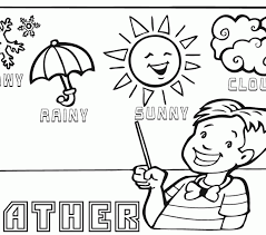 Colouring Pictures For Kids Weather Sheets Coloring Europe Travel Guides