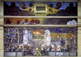 Diego Rivera Rockefeller Center Mural Controversy by Diego Rivera Most Important Art The Art Story