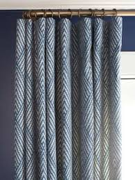 Navy Geometric Pattern Curtains by These Next Curtains Would Go Great With The Geometric Pattern In