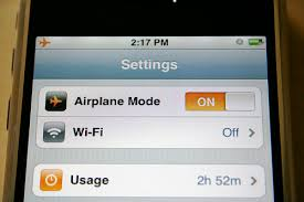 Apple s iPhone 3G Fix Turn Airplane Mode and f