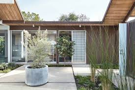 100 Eichler Remodel Fascinating Atrium Home Remodel In The Heart Of Silicon Valley