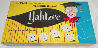 Lowe Yahtzee Board Game 1960s 1 Listing