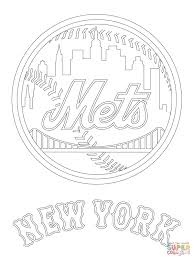 Click The New York Mets Logo Coloring Pages To View Printable