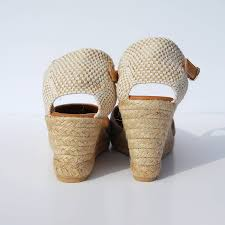 closed toe wedge espadrilles black two heel heights by espadrille