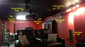 Angled In Ceiling Surround Speakers by No Such Thing As Too Many Speakers Customizing A Dolby Atmos
