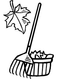 Falling clipart leaf raking 6
