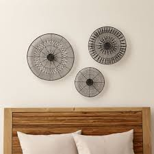 Dexter Floor Lamp Crate And Barrel by Intricate Circle Metal Wall Art 3 Piece Set Crate And Barrel
