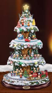 Thomas Kinkade Christmas Tree Teleflora by Thomas Kinkade Tabletop Christmas Tree Christmas Lights Decoration
