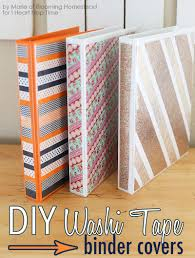 Halloween Washi Tape Ideas by Diy Binder Covers I Heart Nap Time