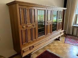 wohnzimmerschrank vitrine über 60 jahre alt edel eur