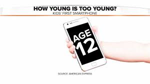 Kids first cell phone Is 12 too young Parents say TODAY