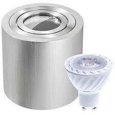 5w dimmbar led aufbauleuchte zylinder ip44 led