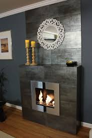 Modern Fire Jazz 2 Wall Mounted Indoor Ethanol Burning Bio Fireplace