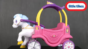100 Little Tikes Princess Cozy Truck Horse And Carriage From MGA Entertainment