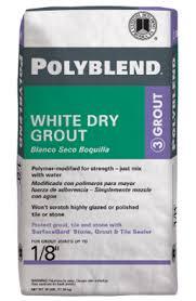 Tilelab Grout And Tile Sealer Sds by Polyblend White Dry Grout Custom Building Products