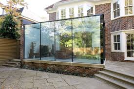 100 Glass Extention External View Of The Frameless Glass Box Extension Showing Silicone