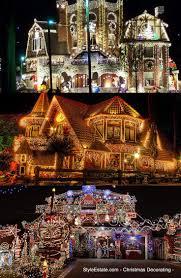 Outdoor Christmas Decorations Ideas Pinterest by Best 25 Exterior Christmas Lights Ideas On Pinterest Decorating