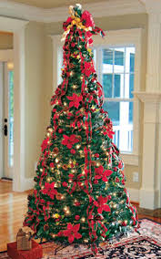 Decorated Indoor Christmas Tree