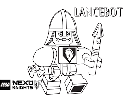 LEGO Nexo Knights Coloring Pages Free Printable Color Sheets