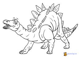 Dinosaur Coloring Page Sheet