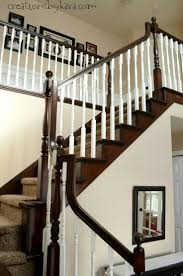 11 Best Refinish Stairs Wood Images On Pinterest | Refinish Stairs ... Chic On A Shoestring Decorating How To Stain Stair Railings And Best 25 Refinish Staircase Ideas Pinterest Stairs Wrought Iron Stair Railing Iron Stpaint An Oak Banister The Shortcut Methodno Howtos Diy Rail Refishing Youtube Photo Gallery Cabinets Boise My Refinished Staircase A Nesters Nest Painted Railings By Chameleon Pating Slc Ut Railing Concept Ideas 16834 Of Barrier Basic Gate About