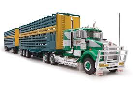 100 Toy Kenworth Trucks Details About Highway Replicas 12011 SAR Truck Livestock Road Train Bagshaws 164