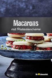 erdbeer pistazien macarons