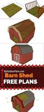 16x20 Gambrel Shed Plans by Free Barn Shed Plans Learn How To Build A 14x16 Gambrel Shed