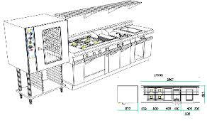 conception de cuisine professionnelle pour les restaurants cafés