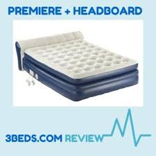 Aerobed Queen With Headboard by Aerobed Premier Air Mattress Review 3 Beds