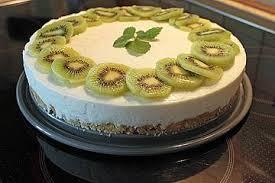 leichte kiwi joghurt torte