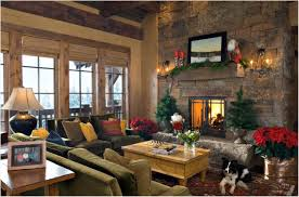 Red Black And Brown Living Room Ideas by Kitchen Christmas Decorations Brown Fireplace Granite Fireplace