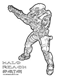 Free Coloring Pages Of Gee From Halo