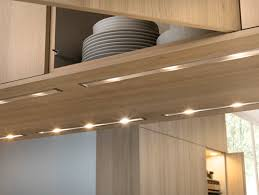 clean integral cabinet lights effective lighting without