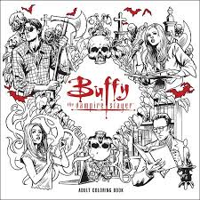 OMG Buffy The Vampire Slayer Colouring Book October 2016