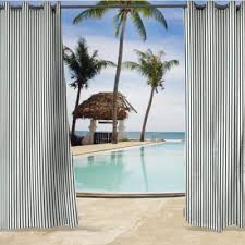 Sunbrella Curtains With Grommets by Buy Outdoor Curtains Panels From Bed Bath U0026 Beyond