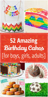 Cake Decorating Books For Beginners by 52 Amazing Birthday Cake Recipes For Boys Girls Adults Tip