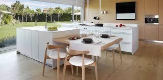 ilot de cuisine avec table cool integree et newsindo co