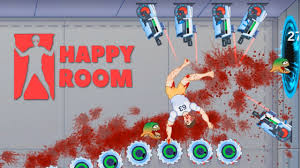 Stickman Death Living Room by Happy Room